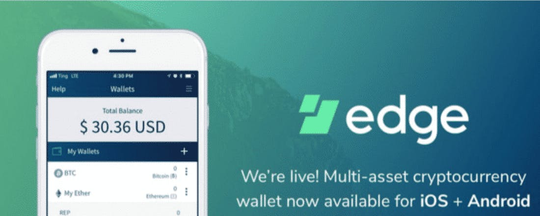 edge crypto wallet app