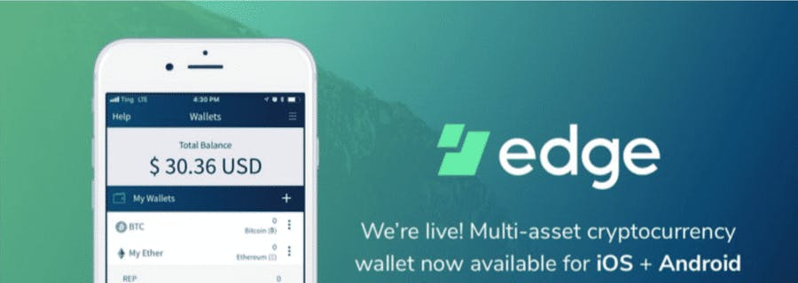 edge crypto wallet app